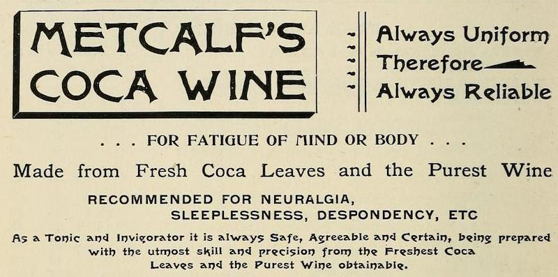 vintage coca wine ad