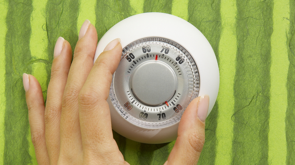 Med thumb handonthermostat