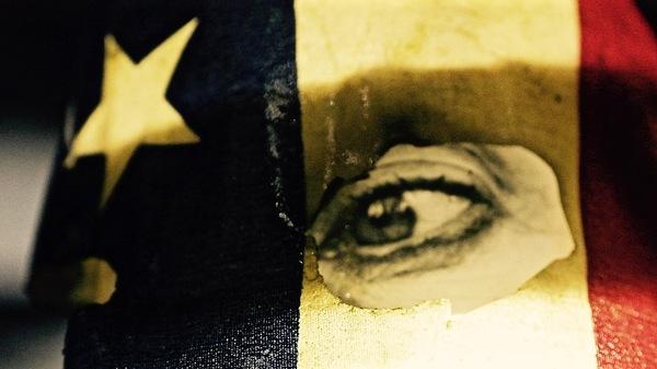 Med thumb eye flag abstract