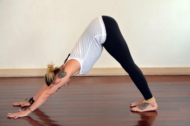 Morning Yoga Pose Sun Salutation