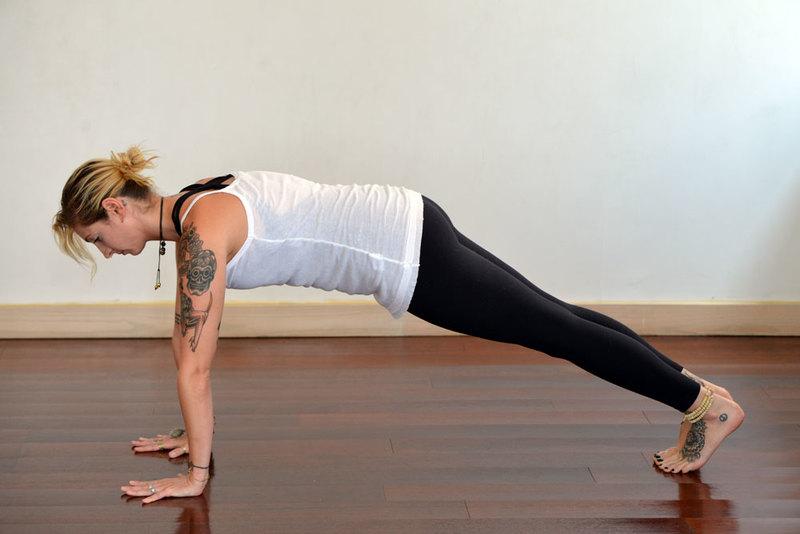 Morning Yoga Pose Plank