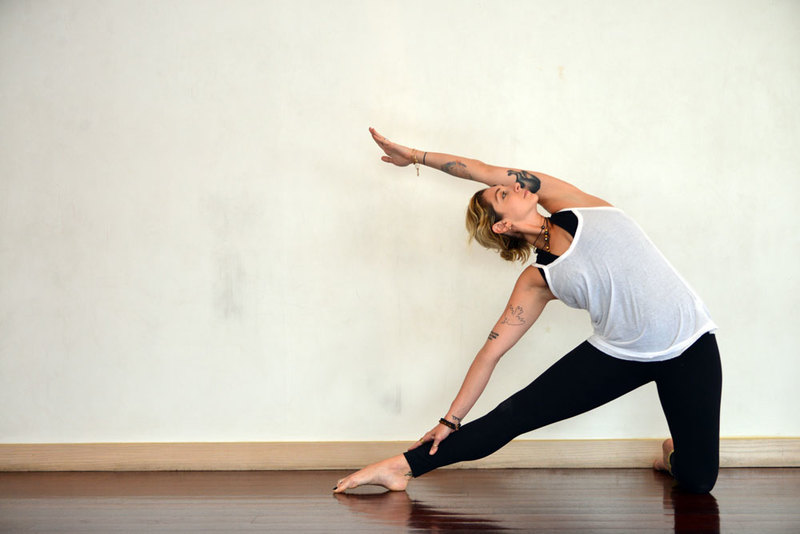 Morning Yoga Pose Gate