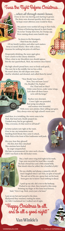 Twas the Night Before Christmas by Van Winkle's