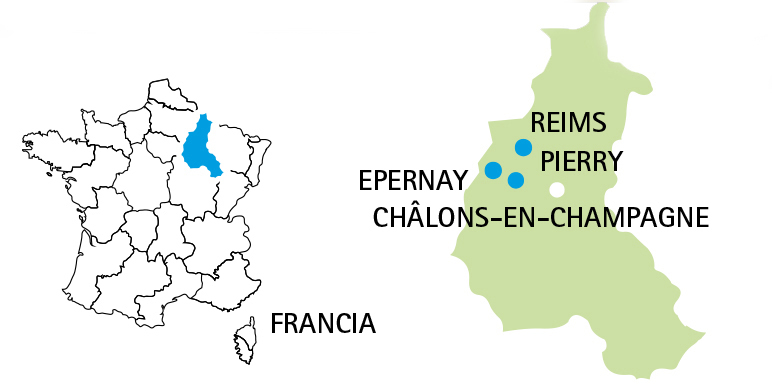 The Champagne Region of France