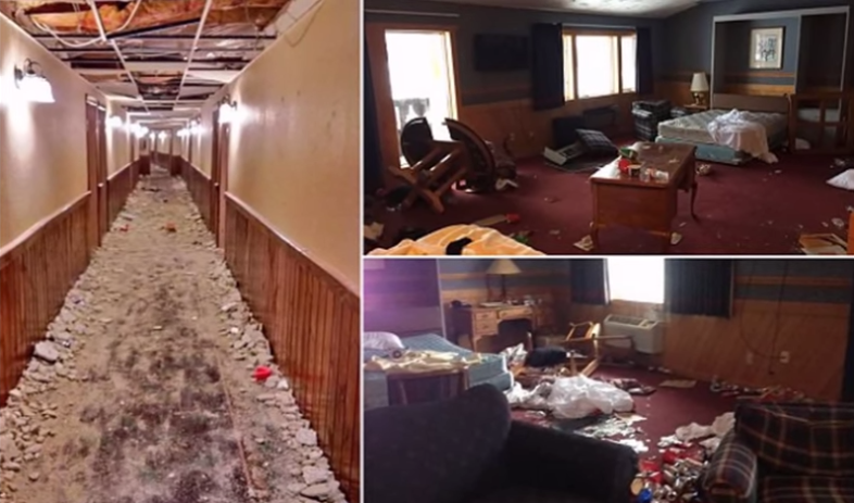 University of Michigan Frat Boys Hotel Wreckers