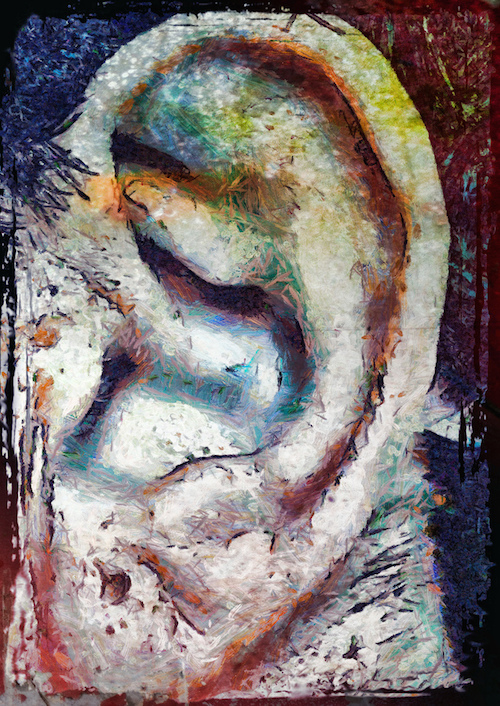 Painted Ear_ExplodingHeadSyndrome