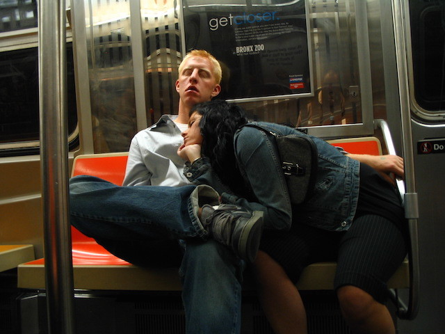 subway sleepers