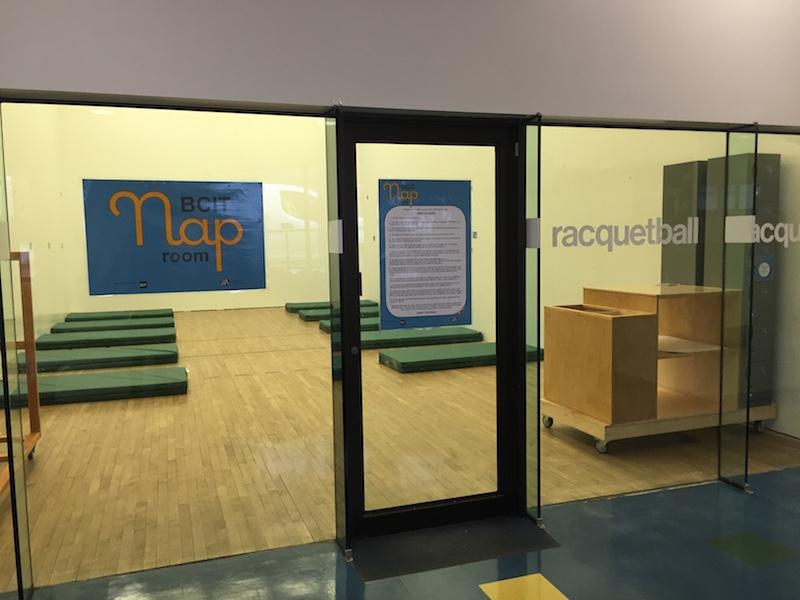 nap room BCIT