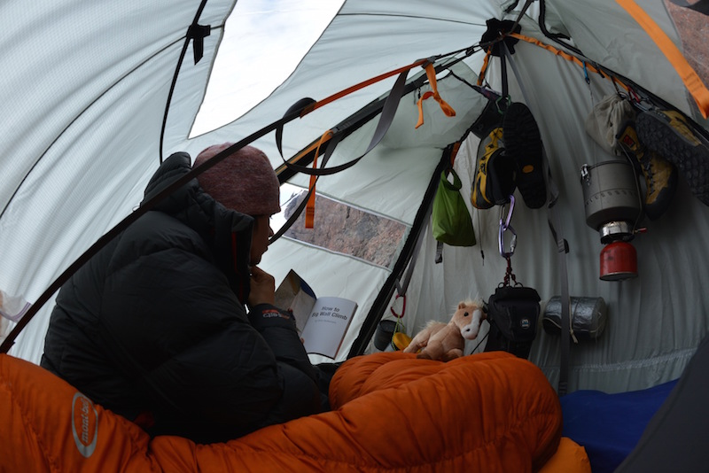 After 62 hours straight of climbing you must be running off pure adrenaline. & What Itu0027s Like to Sleep While Hanging from a Mountain | Van Winkleu0027s
