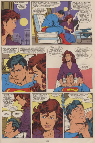 Superman Lois Neck Rub