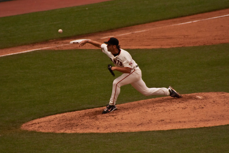 SF Giants Pitcher_Baseball
