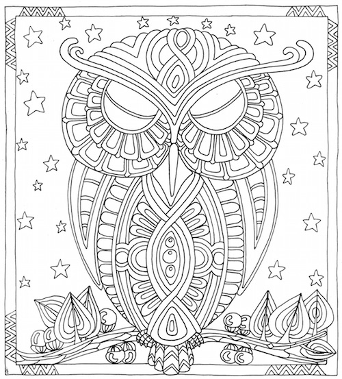 Can an Adult Coloring Book Send Me to Sleep? | Van Winkle\'s