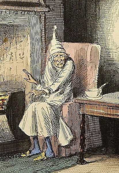 scrooge in charles dickens s a christmas A christmas carol by charles dickens stave 1: marley's ghost , on christmas eve -- old scrooge sat busy in his counting-house it was cold, bleak.