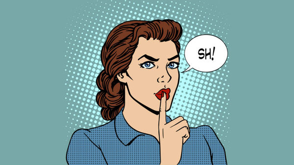 Med thumb shhh woman shushing comediansmain