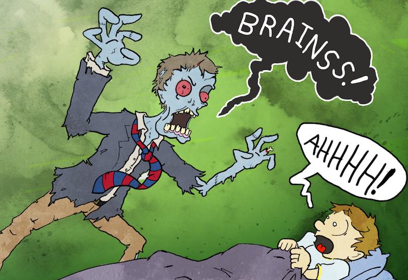Zombie Cartoon 1