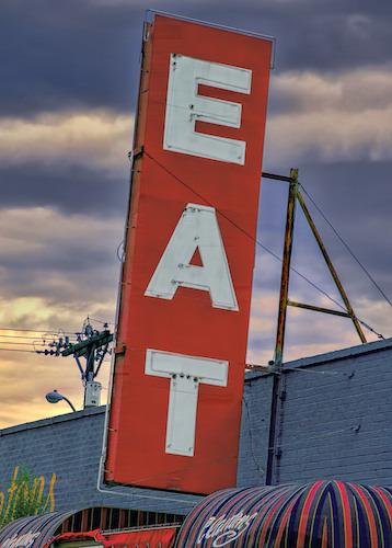 Eat Diner Sign